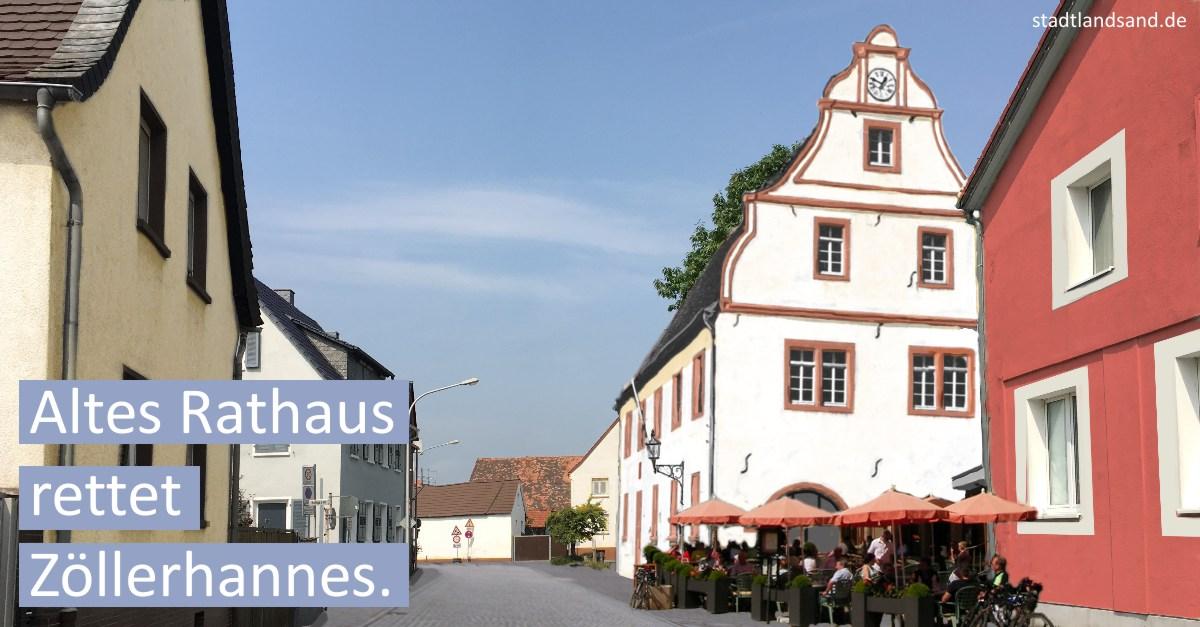 Altes Rathaus rettet Zöllerhannes.