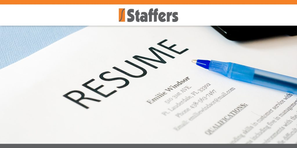 How Often Should You Update Your Resume? Staffers Inc