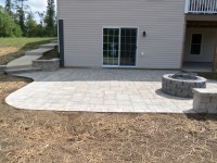 Landscaping Virginia - Brick Paver Patio Backyard ...