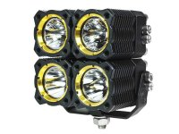 KC HiLites Quad FLEX Off-Road LED Lighting System (Single ...