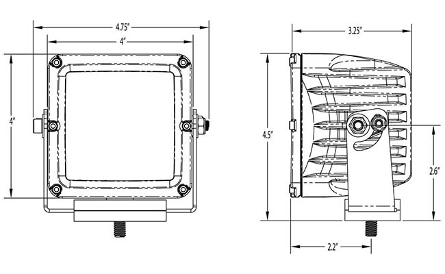 rigid ind 40193 driving fog light wiring harness