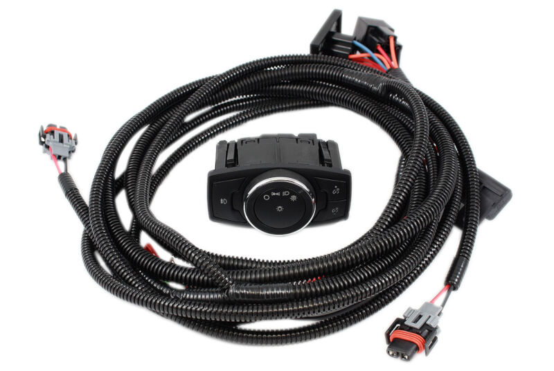 mustang fog light wiring harness