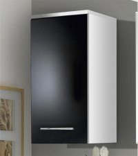 Black Gloss Bathroom Wall Cabinet - Home Furniture Design