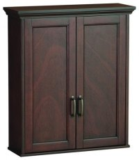 Cherry Bathroom Wall Cabinet - Home Furniture Design