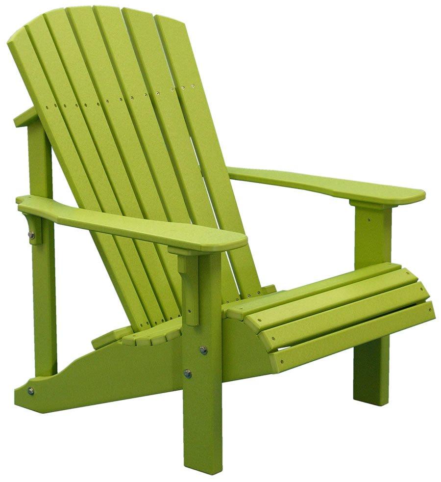Green Adirondack Chair Home Furniture Design