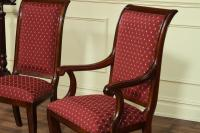 Modern Upholstered Dining Room Chairs with Arms - Home ...