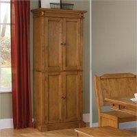 OAK Kitchen Pantry Cabinet - Home Furniture Design