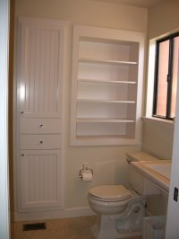 Recessed Bathroom Storage Cabinet - Home Furniture Design