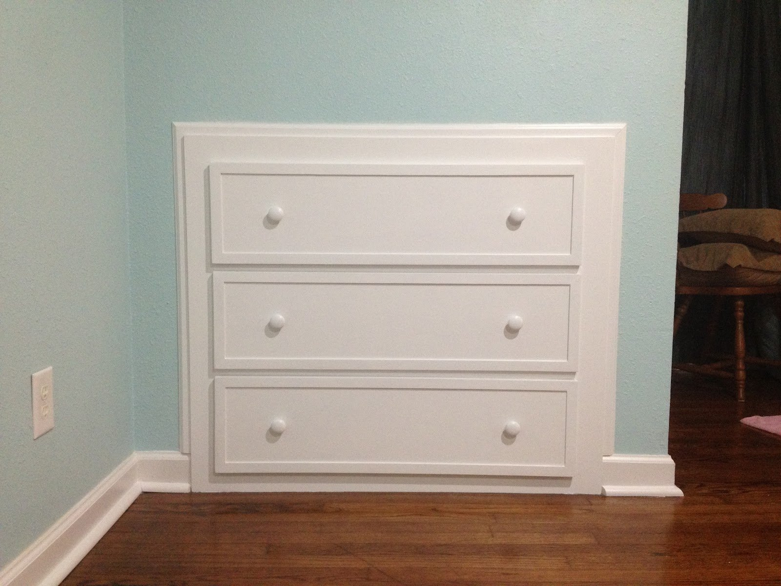 Built In Dresser Drawers Home Furniture Design