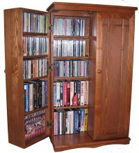 Dvd Shelf Unit. Game Central Tall In Black. CD Storage ...