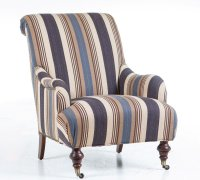 Fabric Accent Chairs for Living Room - Home Furniture Design