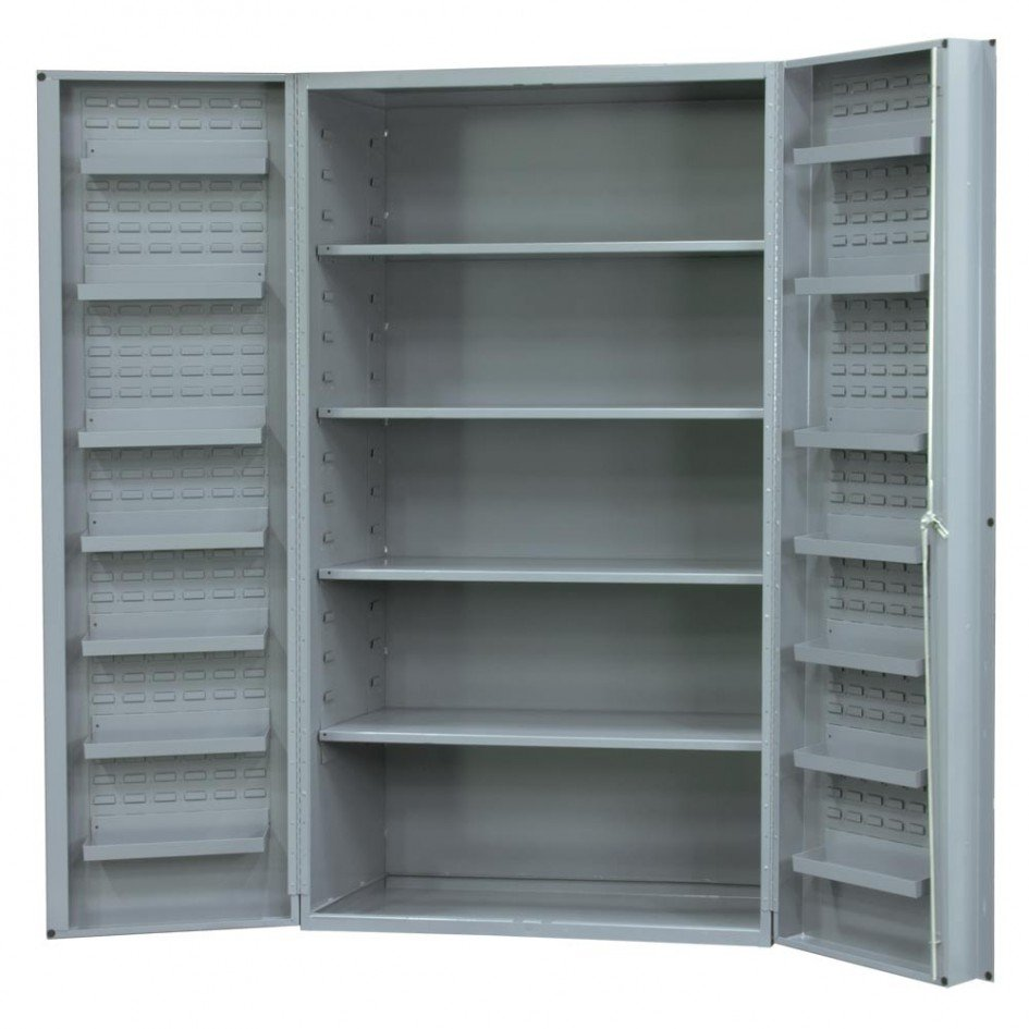 Metal Storage Cabinets With Doors And Shelves Home