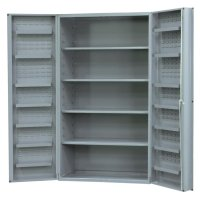 Metal Storage Cabinets with Doors and Shelves - Home ...