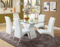 White Dining Room Table Set - Home Furniture Design