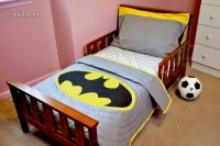 Batman Toddler Bedding Set
