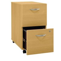 2 Drawer Wood File Cabinet - Home Furniture Design