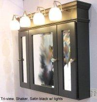 Black Bathroom Medicine Cabinet - Home Furniture Design