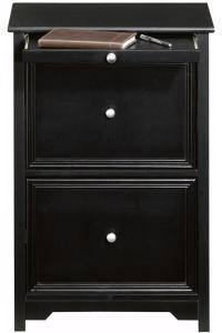Black Wood Filing Cabinet - Home Furniture Design