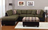 Dark Green Sofa - Home Furniture Design