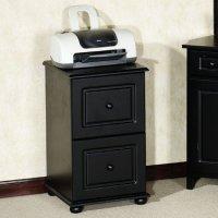 Dark Wood File Cabinet - Home Furniture Design