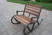 Metal Outdoor Rocking Chairs - Home Furniture Design