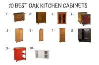 Oak Kitchen Cabinets - Home Furniture Design