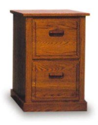 Solid Wood File Cabinet 2 Drawer - Home Furniture Design