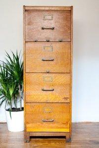 28 Excellent Vintage File Cabinets | yvotube.com