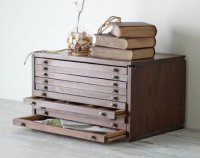 Wood Flat File Cabinet - Home Furniture Design