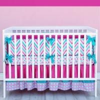Chevron Crib Bedding Set - Home Furniture Design