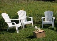 White Plastic Adirondack Chairs - Home Furniture Design