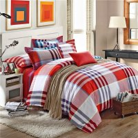Red And Gray Bedding Sets - Home Furniture Design