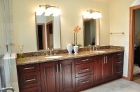 Cherry Bathroom Cabinets - Home Furniture Design