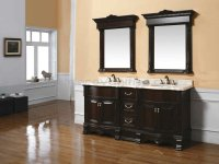 Cherry Wood Bathroom Cabinets - Home Furniture Design