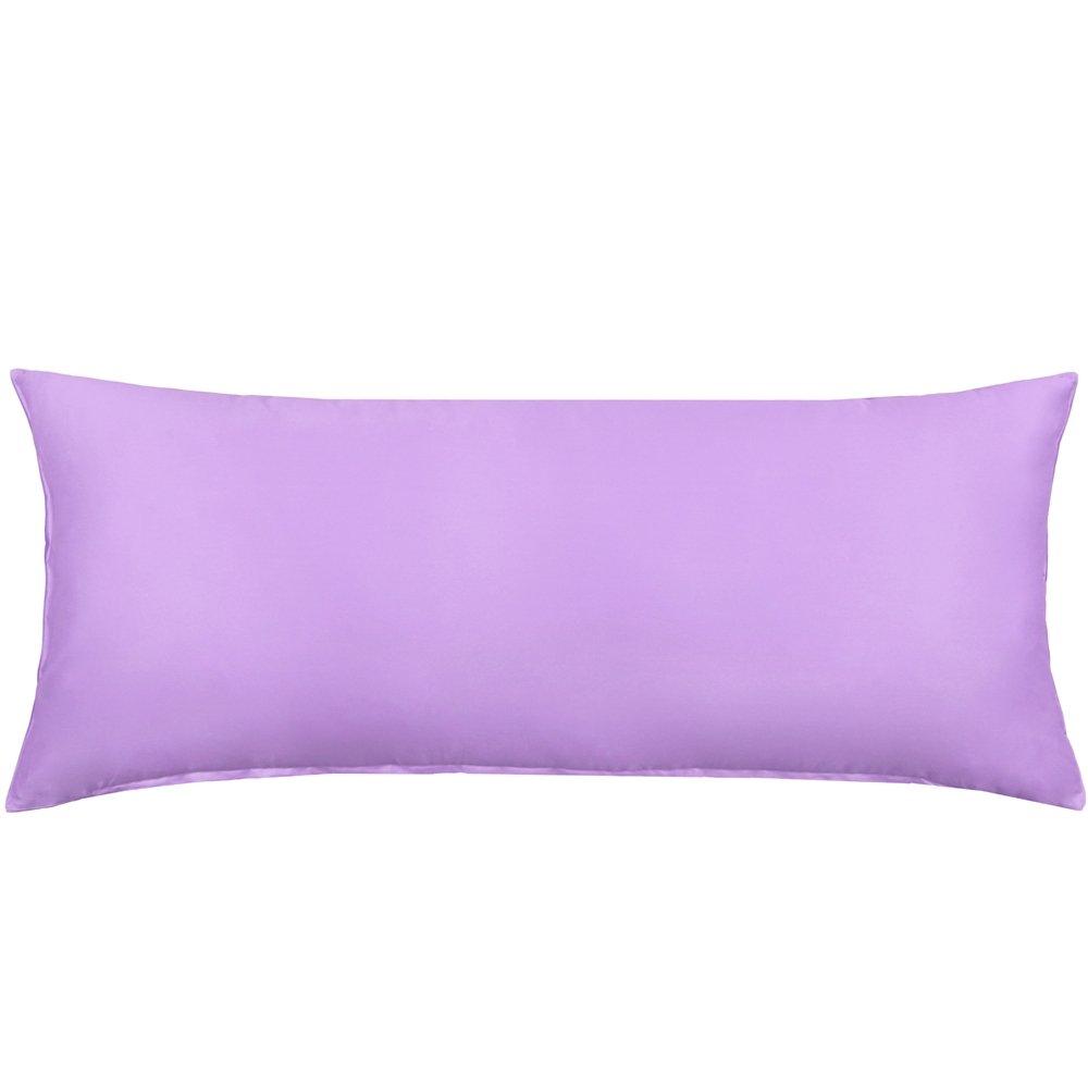 Purple Body Pillow Cover