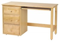 White Student Desk with Drawers - Home Furniture Design