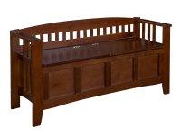 Wooden Storage Bench Seat - Home Furniture Design
