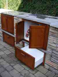 Outdoor Wood Cabinet - Home Furniture Design