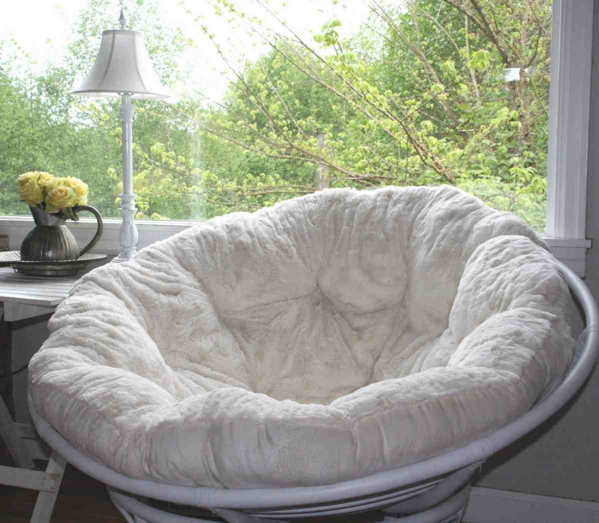 Papasan Cushion Slipcover Home Furniture Design