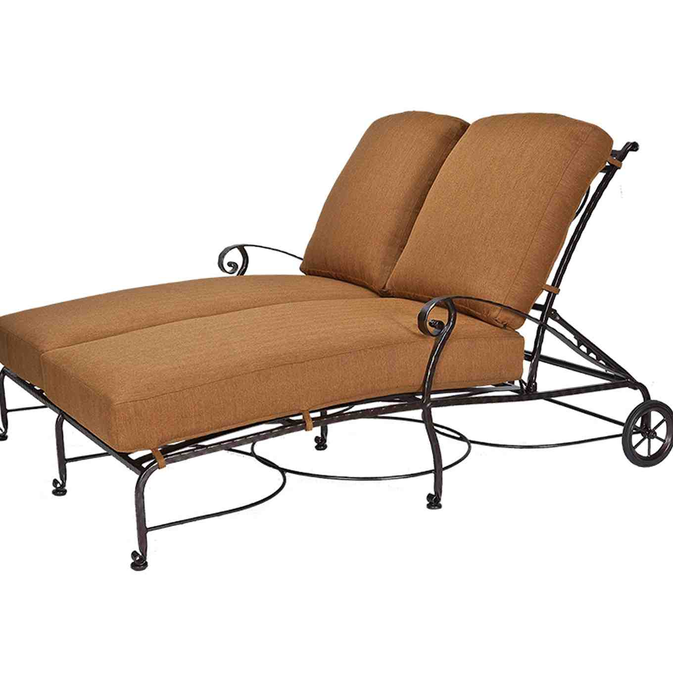 Double Chaise Lounge Cover Outdoor Furniture Home