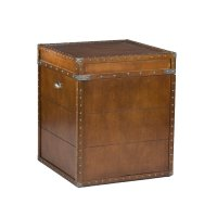 Steamer Trunk End Table - Home Furniture Design