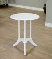 Small White End Table - Home Furniture Design