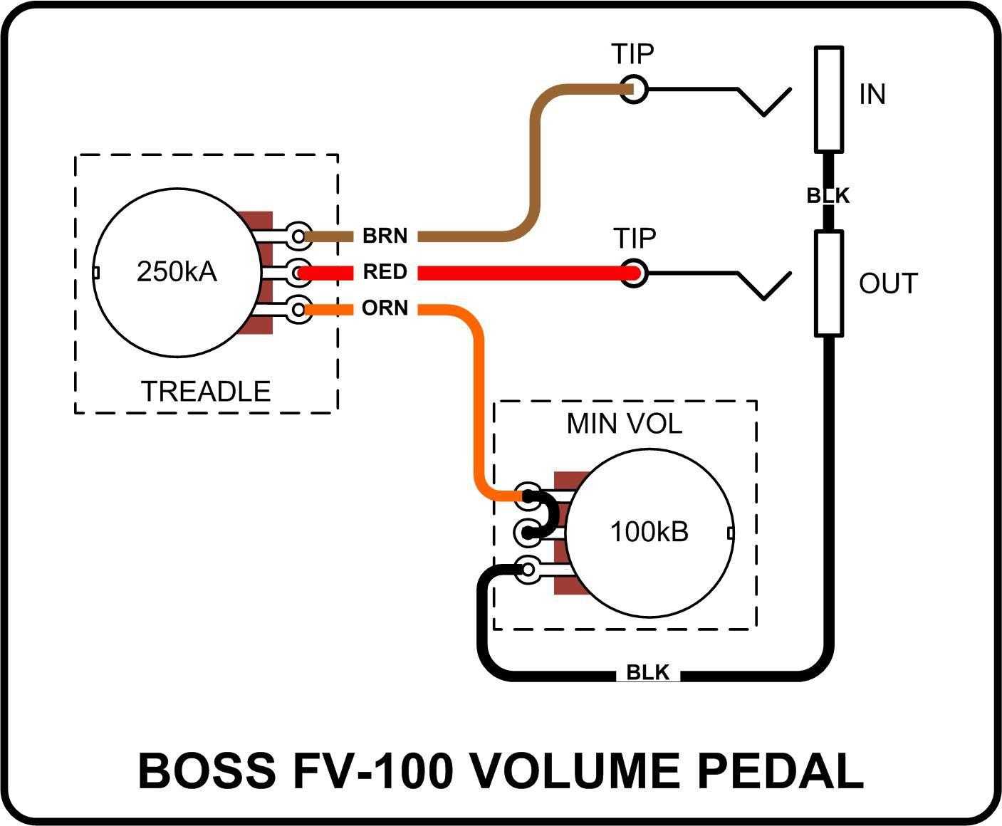 volume and tone wiring schematic
