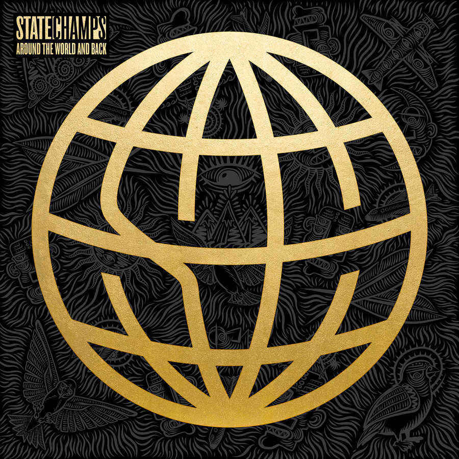 Mania Album Cover Fall Out Boy Wallpaper Album Review State Champs Around The World And Back