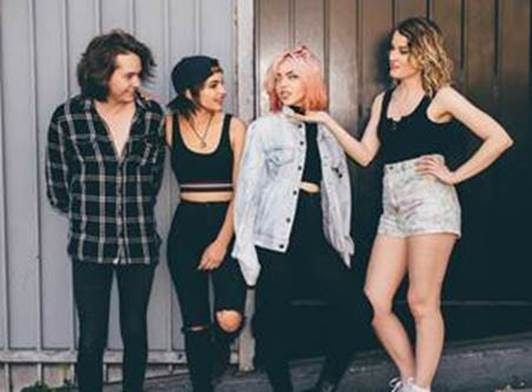 Fall Out Boy Wallpaper Mania Hey Violet Premieres Live Video For Fuqboi Stage Right