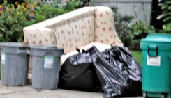 Get rid of the garbage before staging