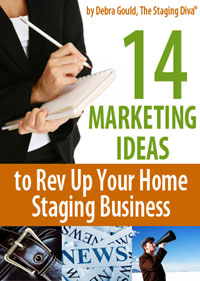 home staging marketing ideas