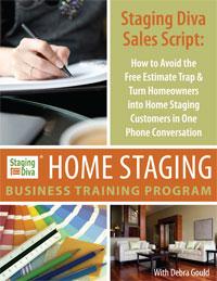 home staging sales script