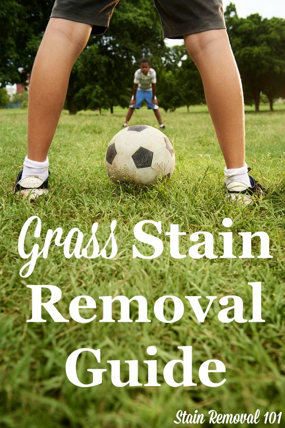 How To Remove Grass Stains