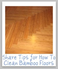 How To Clean Bamboo Floors - Tips And Hints